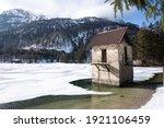 Panorama Of The Frozen Lago Del ...