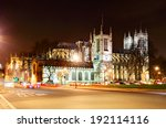 Westminster Abbey At Night ...