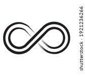grunge infinity symbol.... | Shutterstock .eps vector #1921236266