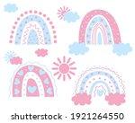boho rainbow. children's...   Shutterstock .eps vector #1921264550