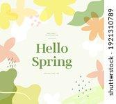 shopping banner illustration... | Shutterstock .eps vector #1921310789