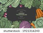 hand drawn vintage color... | Shutterstock .eps vector #1921316243