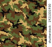 camouflage seamless pattern.... | Shutterstock .eps vector #1921331930