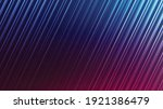 neon abstract lines design on... | Shutterstock .eps vector #1921386479