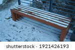 Wooden Bench On A Mountain...