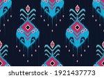 geometric ethnic oriental ikat...   Shutterstock .eps vector #1921437773