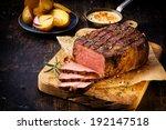 Delicious Lean Rare Roast Beef...