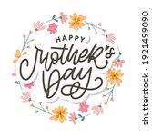 elegant greeting card design... | Shutterstock .eps vector #1921499090