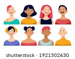 people avatar collection.... | Shutterstock .eps vector #1921502630