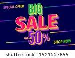 sale banner template design ... | Shutterstock .eps vector #1921557899