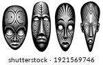 primitive ritual masks of...   Shutterstock .eps vector #1921569746
