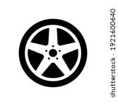 wheel disks icon  logo isolated ...   Shutterstock .eps vector #1921600640