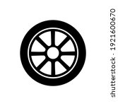 wheel disks icon  logo isolated ...   Shutterstock .eps vector #1921600670