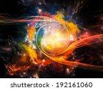 Space Vortex Series. Artistic...
