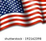 stars   stripes american... | Shutterstock .eps vector #192162398
