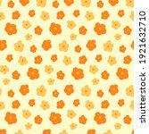 vector orange and yellow... | Shutterstock .eps vector #1921632710
