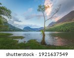 Landscape Scenery Of A Small...