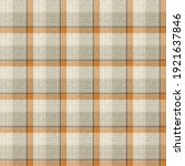 Knit Wool Plaid Background...