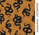 vector magic seamless pattern... | Shutterstock .eps vector #1921660559