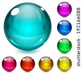 Set Of Multicolored Spheres...