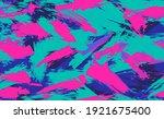 neon seamless camouflage... | Shutterstock .eps vector #1921675400