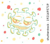 corona virus 2020. covid 19.... | Shutterstock .eps vector #1921695719