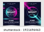 night dance party music layout... | Shutterstock .eps vector #1921696463