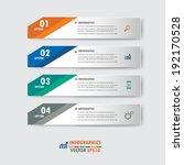 modern design infographics... | Shutterstock .eps vector #192170528