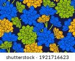 african seamless pattern ...   Shutterstock .eps vector #1921716623