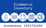 ecommerce inventory background...