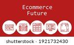 ecommerce future background...