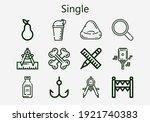 premium set of single icons....