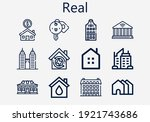 premium set of real  s  icons....   Shutterstock .eps vector #1921743686