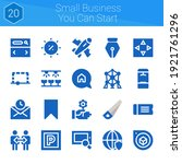 small business you can start...
