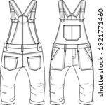 Toddler Boys Dungaree Fashion...