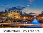 Amsterdam Netherlands  Night...