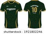 sports jersey t shirt design ... | Shutterstock .eps vector #1921802246