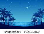 palm trees | Shutterstock .eps vector #192180860