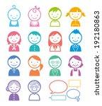 people | Shutterstock .eps vector #192180863