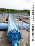 blue stopcock tap valve gate... | Shutterstock . vector #192183383