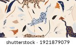 hand drawn abstract collage... | Shutterstock .eps vector #1921879079