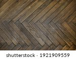 Wooden Parquet Top View....