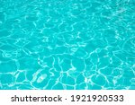 Surface Of Blue Swimming Pool....