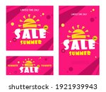 bright red sale banner with... | Shutterstock .eps vector #1921939943