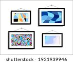 abstract picture hang on the... | Shutterstock .eps vector #1921939946