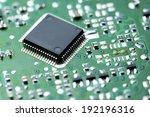 closeup of a chip in an... | Shutterstock . vector #192196316