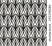 seamless pattern. geometric... | Shutterstock .eps vector #192198284