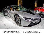 Bmw I8 Electric Sports Car...