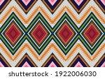 abstract ethnic geometric... | Shutterstock .eps vector #1922006030