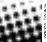 black halftone background.... | Shutterstock .eps vector #1922007653